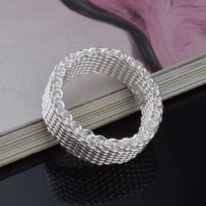 Jewelry - Essential Silver Mesh Ring